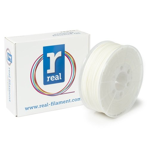 Real Filament 8719128324814 Real PLA, Spool of 1 kg, 1.75 mm, White