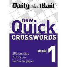 Daily Mail: New Quick Crosswords 1: 200 Puzzles from Your Favourite Paper: V. 1 (the Daily Mail Puzzle Books)