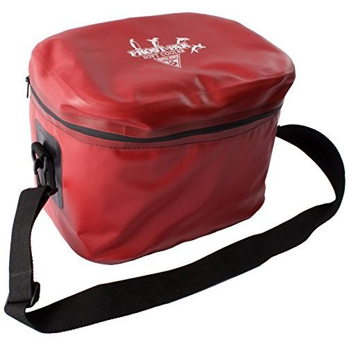 Built U S A Seattle Sports Frost Pack 19 Quart Soft Cooler Red