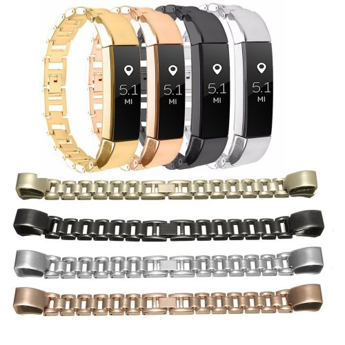 Replacement Stainless Steel Wrist Band Bracelet Buckle For Fitbit Alta Tracker