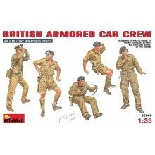 Min35069 - Miniart 1:35 - British Armoured Car Crew