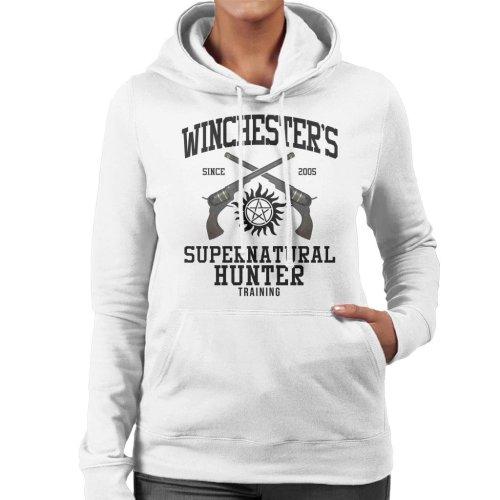 Winchesters Supernatural Hunter Training Women's Hooded Sweatshirt