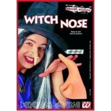 Ladies Theatrical Witch Nose Withadhesive Accessory For Halloween Fancy Dress