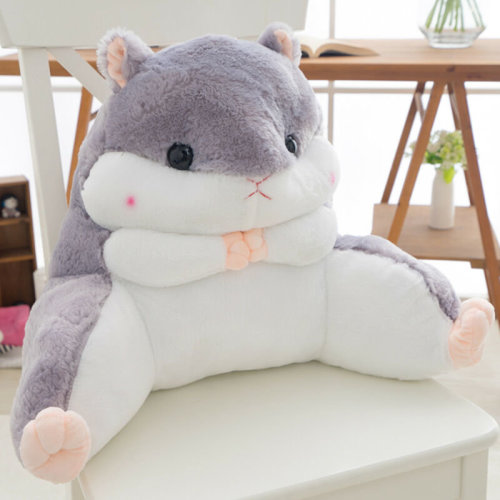 Cute Lounger Back Pillow Bed Rest Support Bed Office Home Seat Backrest Cushion