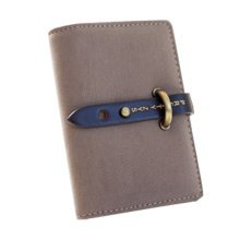 High Quality PU Leather Credit/Business Card Holder,Coffee