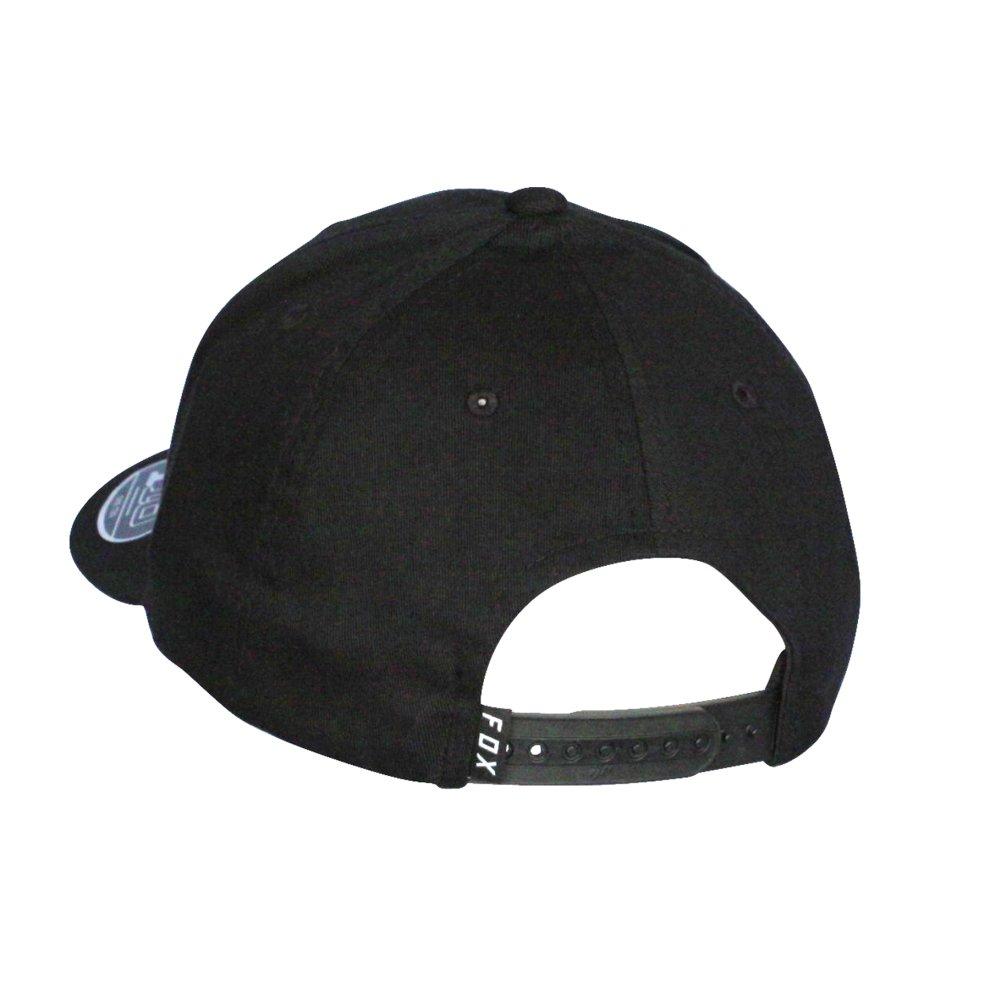 15e9e95c27961 ... Fox Head 110 Flexfit Snapback Cap ~ Legacy Moth black white - 1.