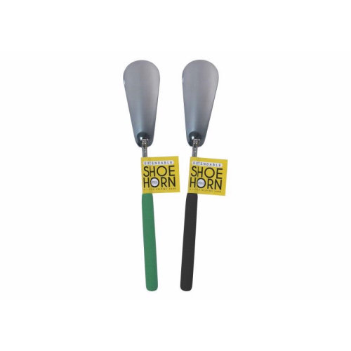 Extendable Metal Soft Grip Shoe Horn Disability Aid