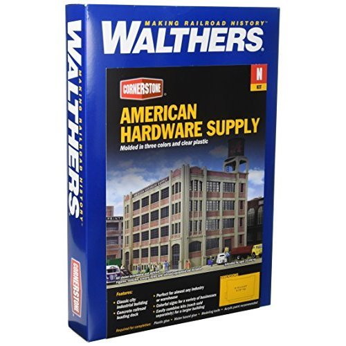 Walthers Inc American Hardware Supply Kit 8 1 4 X 5 3 4 X 6 7 8 20 9 X 14 6 X 17 4cm