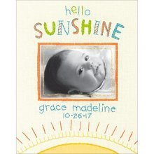 Dimensions Needlecrafts 71-01547 Dimensions Hello Sunshine, Embroidery - Cathy -  cathy heck hello sunshine birth record embroidery kit8x10 stitched