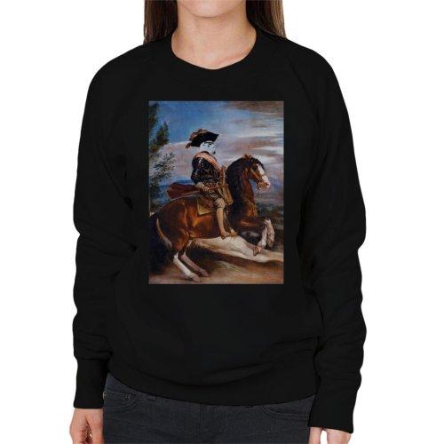 Original Stormtrooper Philip Of Spain Painting Parody Women's Sweatshirt