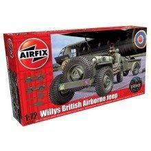 Air02339 - Airfix Series 2 - 1:72 - Willys Jeep, Trailer, Howitzer