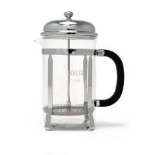 La Cafetiere Classic 12-Cup French Press Coffee Maker, Chrome