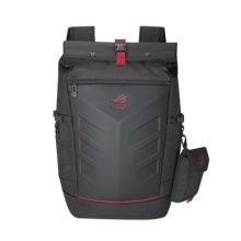 "Asus ROG Ranger Backpack, up to 17"" Laptops, Roll Top, Rain Cover, Black"