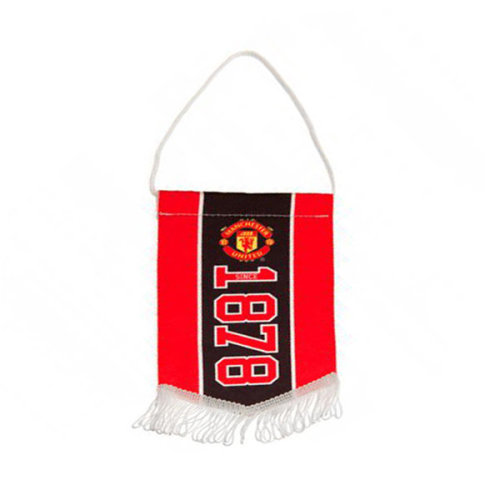 Manchester United F.c. Mini Pennant Official Merchandise - Fc Football Flag -  manchester united mini pennant fc official football flag