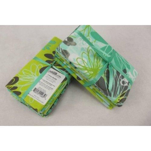 Fat Quarter Bundle - 100% Cotton - Blue Lagoon - Pack of 5
