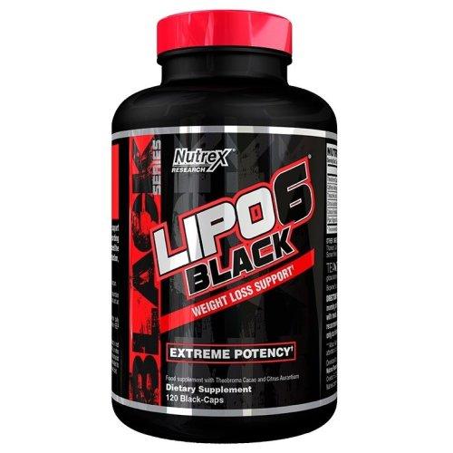 Nutrex  Lipo-6 Black - 120 black caps
