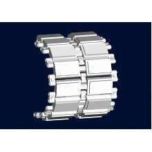 Tru02056 - Trumpeter Track Set 1:35 - Strv 103 Late Track Links