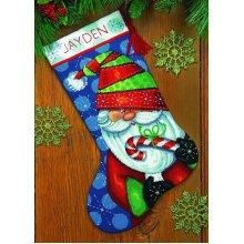 * Dimensions Needlepoint Kit -Stocking: Sweet Santa