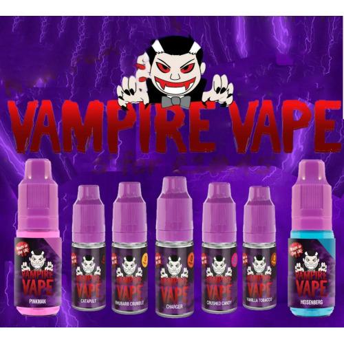 Vampire Vape E-Liquid 5x10ml bottles