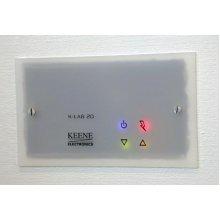 Keene 20w Wall Amplifier Frosted Panel Inc UK PSU