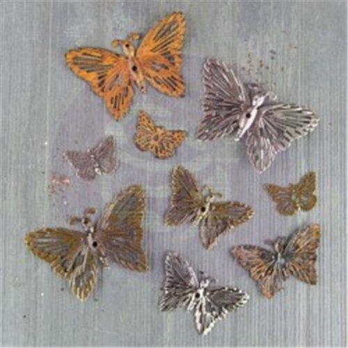 Finnabair Mechanical Embellishment - Grungy Butterfly
