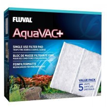 Fluval AquaVAC+ Replacement Fine Filter Pad x5