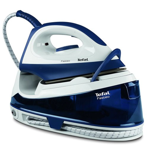 Tefal Fasteo Steam Generator Iron, Fast Heat-Up & Steam Boost 2200W, SV6040 Blue