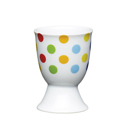 Kitchen Craft - Porcelain Egg Cup - Bright Spots