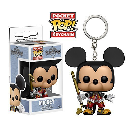 Funko Pocket POP! Kingdom Hearts: Mickey - Disney Vinyl Keychain Figure