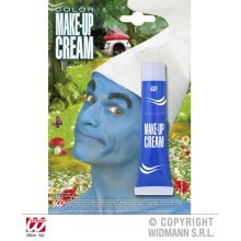 Blue Make-up Cream - Makeup Tube Carnival Smurf Face Paint Fancy Dress Party -  blue makeup tube carnival smurf face paint fancy dress party colour