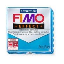 Staedtler - Fimo effect 57g, Translucent Blue