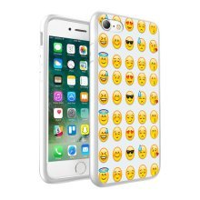 i-Tronixs - Emoji Multi Design Printed Case Skin Cover - 012
