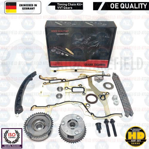 FOR VAUXHALL ASTRA J 1.4 TURBO TIMING CHAIN VVT GEARS KIT A14XEL A14XER A14NEL