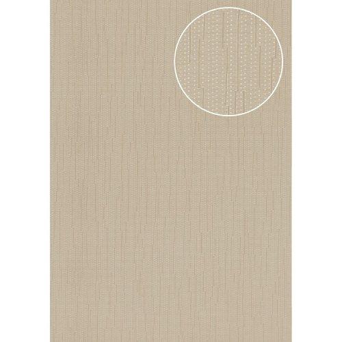Atlas COL-497-3 Unicolour wallpaper shimmering grey-beige 5.33 sqm