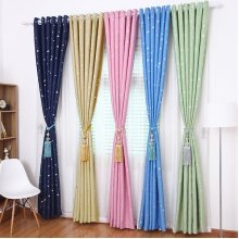 Sky Star Blackout Curtains Thermal Insulated Grommets Drapes