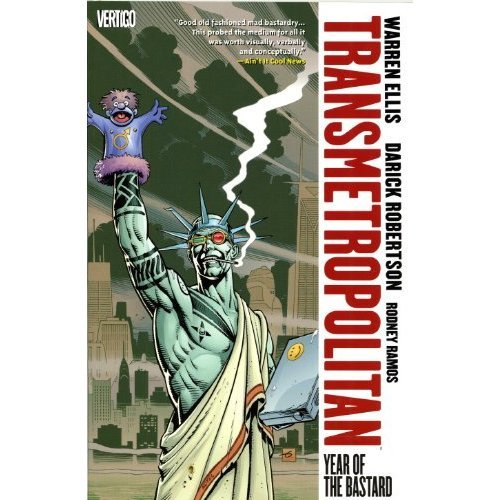 Transmetropolitan: Year of the Bastard v. 3