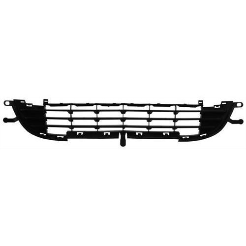 Peugeot 207 5 Door Hatchback  2009-2012 Front Bumper Grille Lower Section - No Grey Trim (Standard Models)