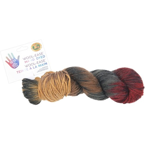 Lion Brand Yarn Wool-Ease Hand Dyed-Caramel Apple