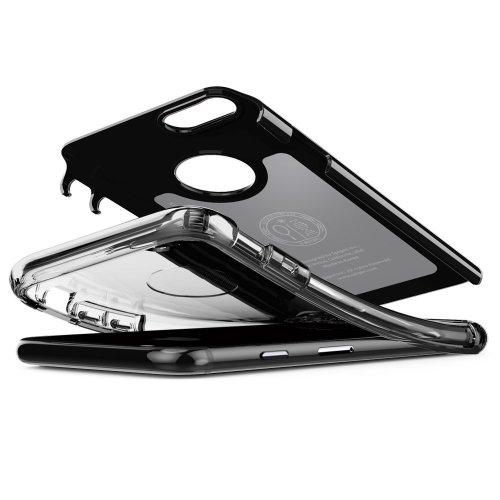 iPhone 7 Case, Spigen AIR CUSHION Clear TPU/PC Frame Dual Layer
