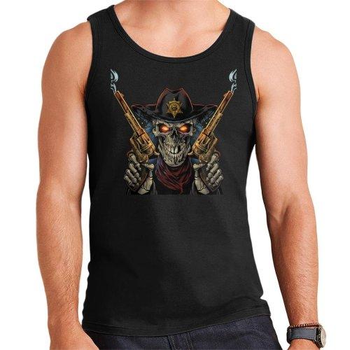 Skeleton Gunslinger Men's Vest