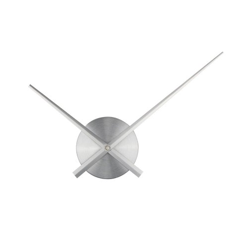 3D Clock Hands, Timelike DIY Large Clock Hands Needles Wall Clocks 3D Home Art Decor Quartz Clock Mechanism Accessories (Silver)