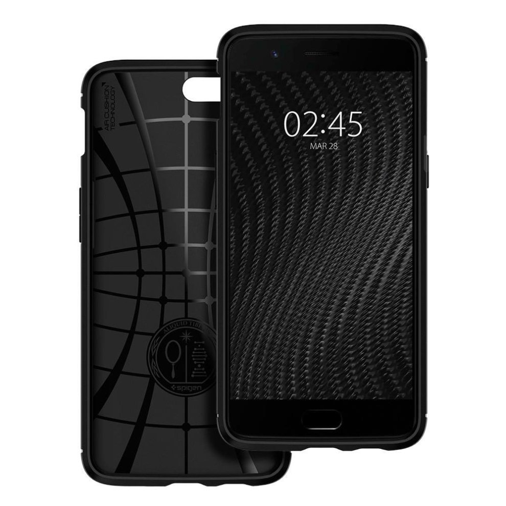various colors 697a1 7c36d Spigen Oneplus 5 case, [Rugged Armor] Resilient Shock Absorption and Carbon  Fiber Design for OnePlus 5 (2017) (NOT COMPATIBLE with OnePlus 5T 2017)...