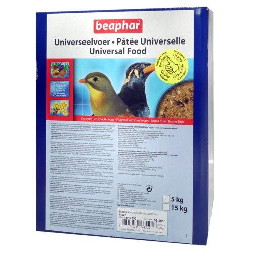 Beaphar Bogena Softbill Universal Bird Food 5x1kg