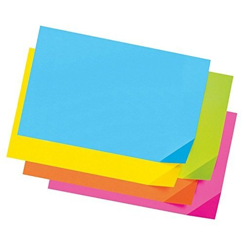 Pacon Colorwave Super Bright Tagboard 12 x 18 Inches Assorted Colors 100 Sheets 1712