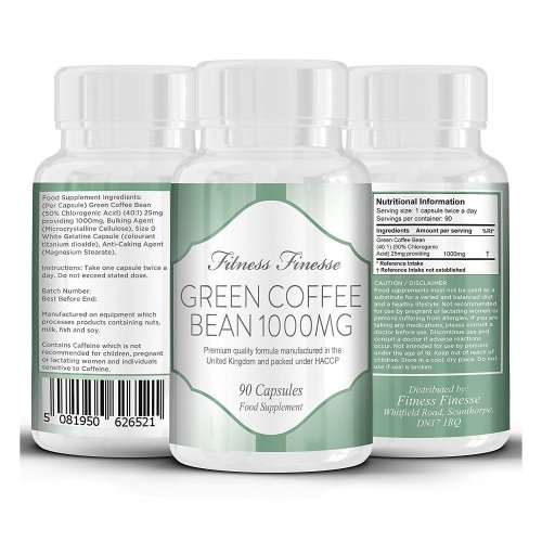 Green Coffee Bean weight loss supplement 90 Capsules 1000mg