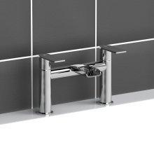 Bm057 Bath Mixer Filler Tap Taps Modern Chrome Plated Brass Bathroom