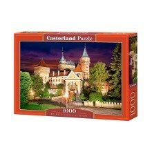 Csc103393 - Castorland Jigsaw 1000 Pc - Bojnice Castle at Night