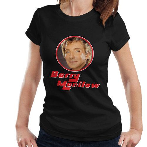 Barry Manilow Retro Photo Frame Women's T-Shirt