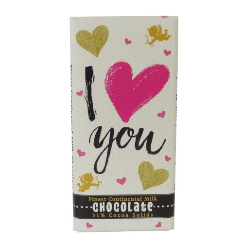 Chocolate Bar - I Love You