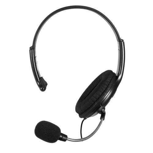 Wired Chat Headset Game Headphones Microphone
